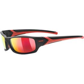 09afb665e7a07 UVEX Sportstyle 211 Pola - Lunettes cyclisme - rouge noir